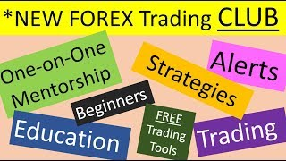 New Forex trading, Alert and Mentorship club. An all in 1 package for all serious Forex traders