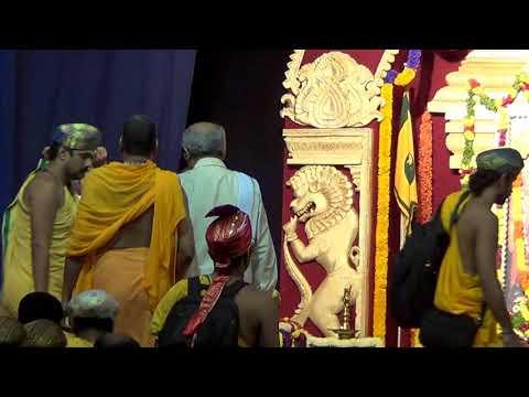 Shri Shri Raghaveshwara Bharathi Mahaswamiji at Dharmasthala