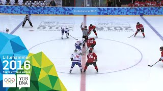 Ice Hockey - Men's Preliminaries - Norway vs Canada | Lillehammer 2016 ​Youth Olympic Games​