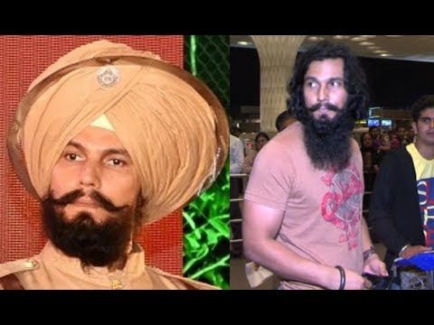 Randeep Hooda New Look For Battle of Saragarhi Movie