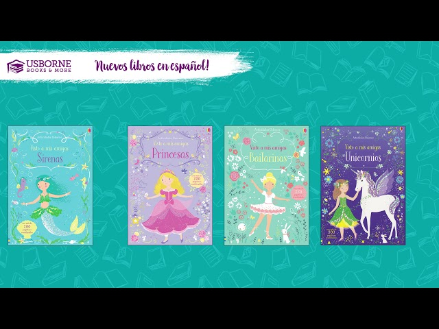 New Spanish Titles With Usborne Books & More! Spring Midseason 2019 Spanish Titles!
