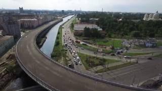 Развязка набережной Обводного канала и пр. Обуховской обороны