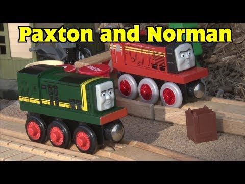 Enterprising Engines: Paxton and Norman (Thomas & Friends)