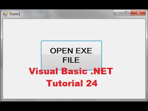 Visual Basic Tutorial 24