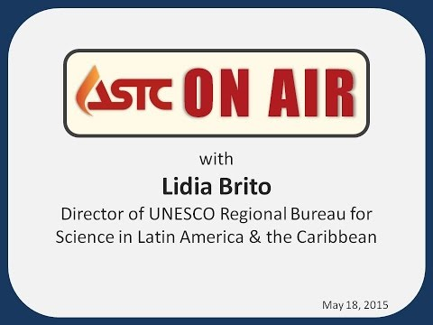 ASTC On Air with... Lidia Brito