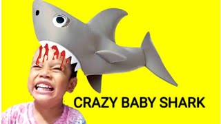 Crazy Baby Shark Indonesia ❤ Hiu Gila