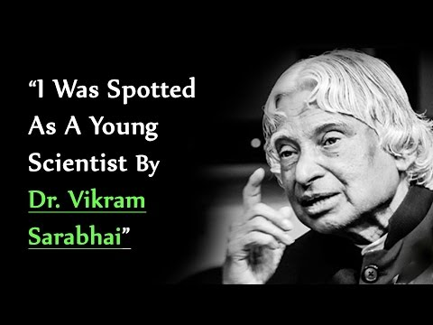 """""""I Was Spotted As A Young Scientist By Dr. Vikram Sarabhai""""   India Today Conclave 2013"""