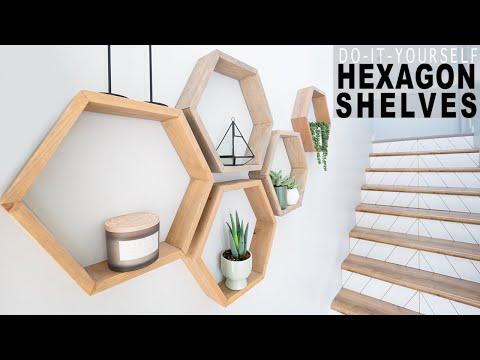 Building Strong Hexagon Shelves You