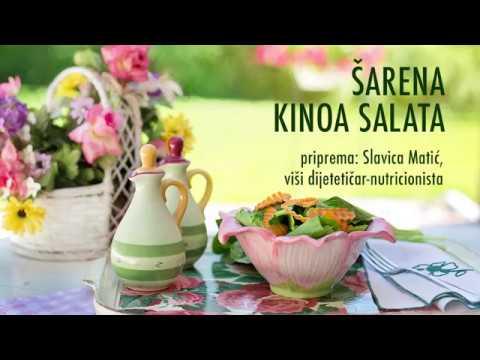 Šarena kinoa salata