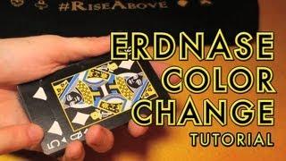 Erdnase Change (Tutorial --- Color Change)