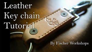 Leather Keychain Tutorial