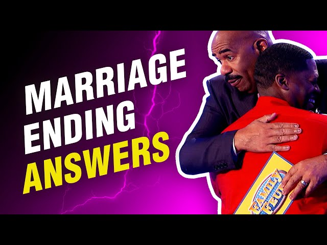 Here's how to destroy your marriage on Family Feud!