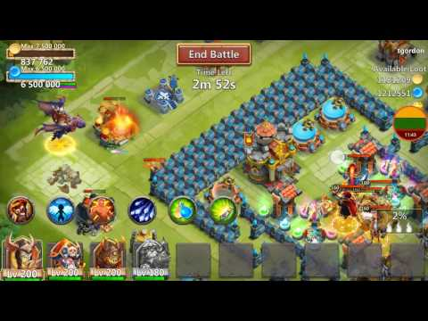 Another Very Lucky Treasure Chest Event For Dracax + Rolling Talents Castle Clash Lithuania
