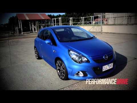 2013 Opel Corsa OPC engine sound and 0-100km/h