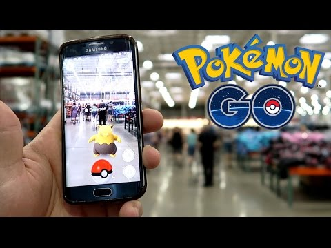 POKEMON HUNTING AT COSTCO!