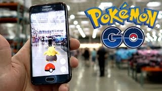 POKEMON HUNTING IN COSTCO!