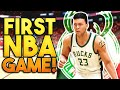 OUR FIRST GAME IN THE NBA! 2K21 Next Gen MyCareer Ep.6