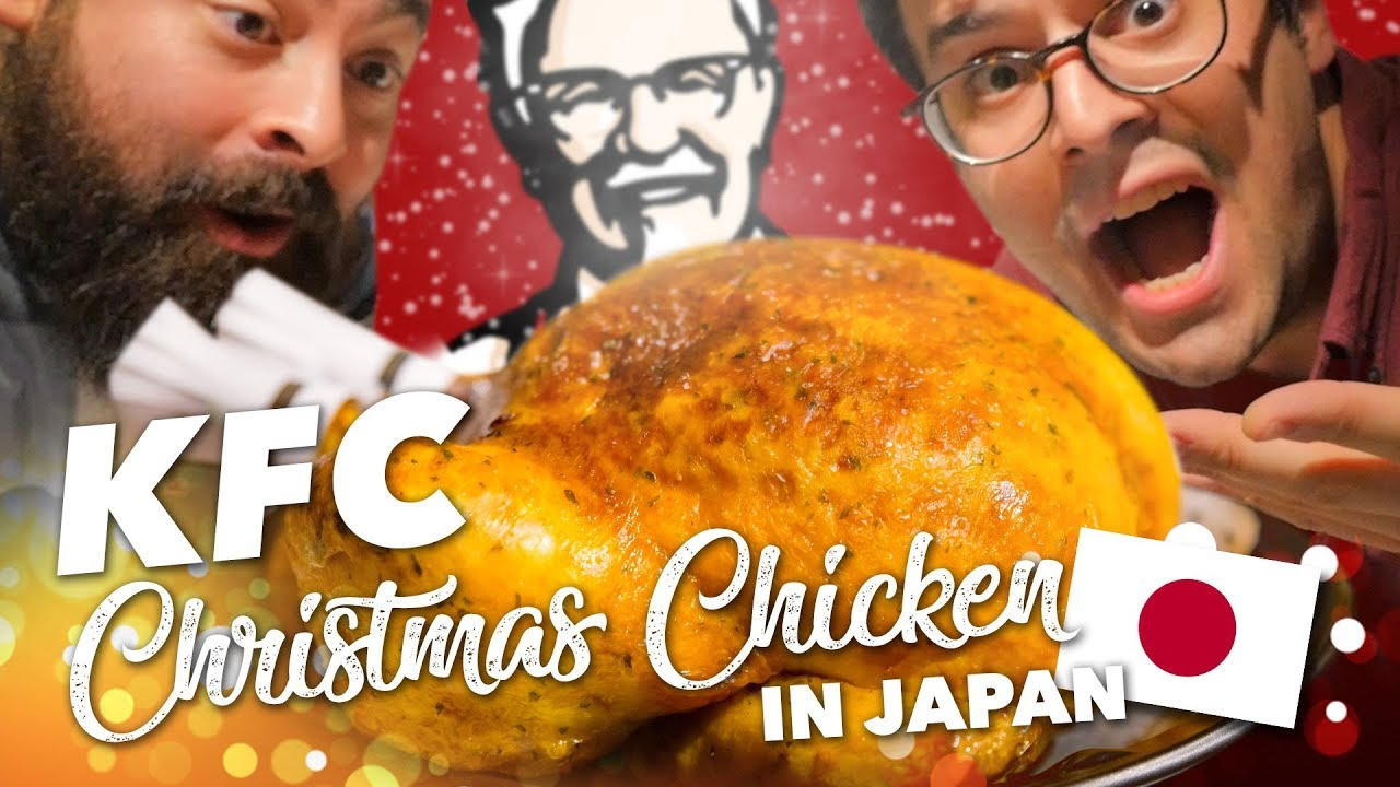 KFC Christmas Chicken in Japan | Ft. DogaTV, Japanese Journey, Ozzy ...