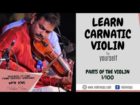 Violin Lessons (1/100) - Parts of the Violin - YouTube