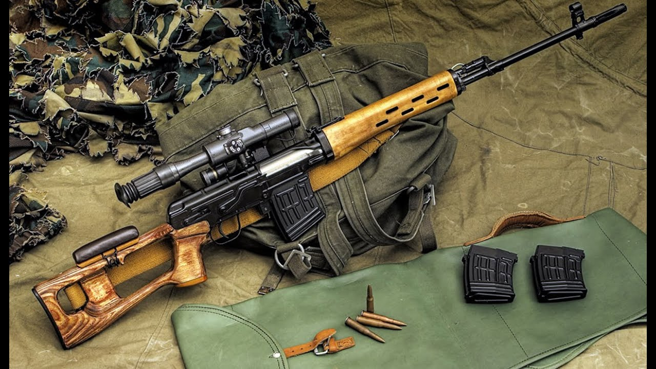 Sniper Rifle Wallpaper Hd Svd Dragunov Sniper Rifle Built By Soviets Made In The