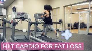 How I Lost Over 30 Pounds | HIIT Cardio Routine at the Gym
