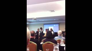 The HAKA that some Maori people did for us today to celebrate the youth court
