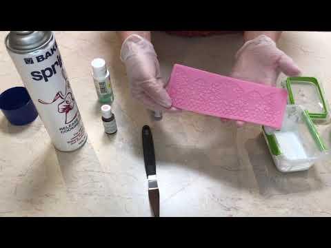 Ep 1 Making Edible Lace Using Sugar Transfer Sheet Scraps