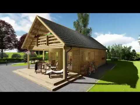 Casa di legno aurora 72m e secondo piano 66mm youtube for Case di legno rumene