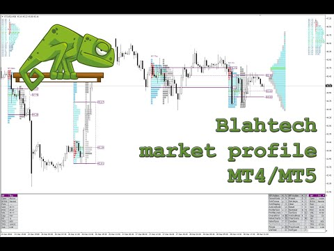 Blahtech MP Market Profile MT4 Indicator – mt4 volume profile indicator