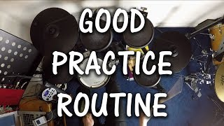 4 Steps to achieving a Good Practice Routine