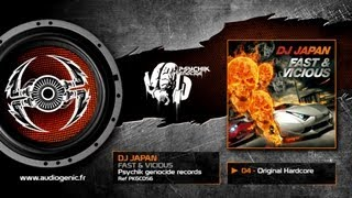 DJ JAPAN - 04 - ORIGINAL HARDCORE - FAST & VICIOUS - PKGCD56