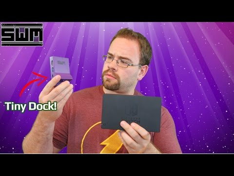 Making The Nintendo Switch Dock Smaller!