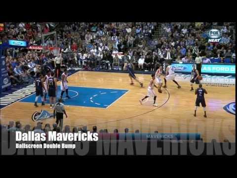 Dallas Mavericks | Man Offense - Ballscreen - Double - Bump