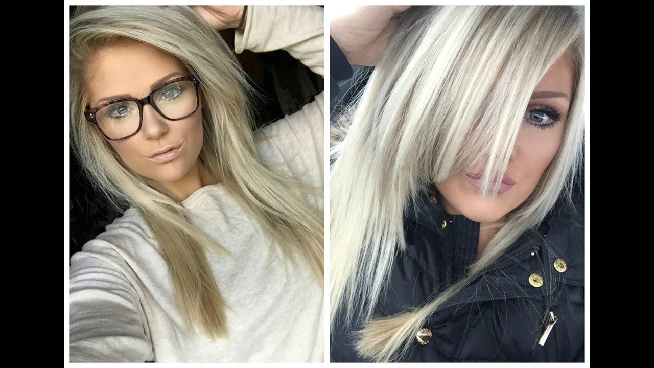 фото пепельная блондинка