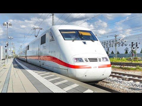 Züge im Bahnhof München Pasing