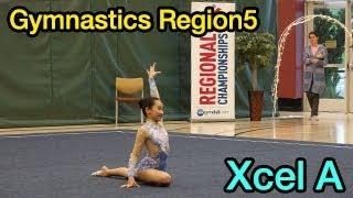 2019 Xcel A, Gymnastics Region…