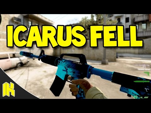 CS:GO - M4A1-S Icarus Fell FN Showcase!