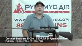 Crosman Phantom 1000x - Great rifle for shooters on a budget!