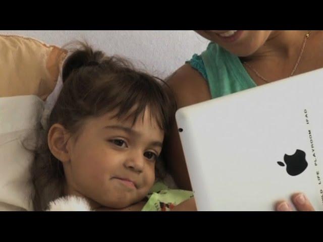 Видеочат с родными помогает детям в больницах поправляться быстрее (новости)