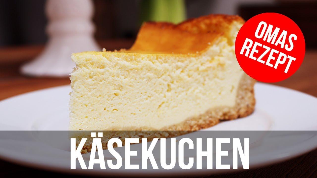 Klassischer Kaesekuchen Nach Omas Rezept German Cheescake