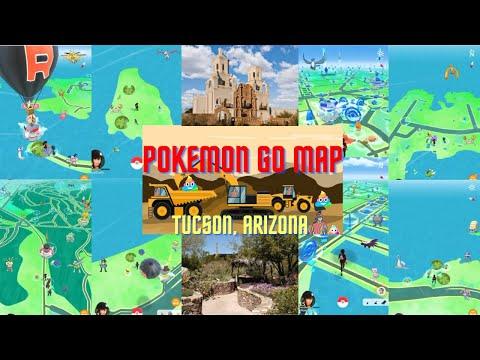 Pokemon Go at Lineweaver Elementary School in Tucson, AZ