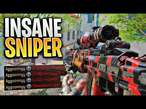 Nobody Uses This SNIPER... AND ITS SO GOOD! (Black Ops 4)