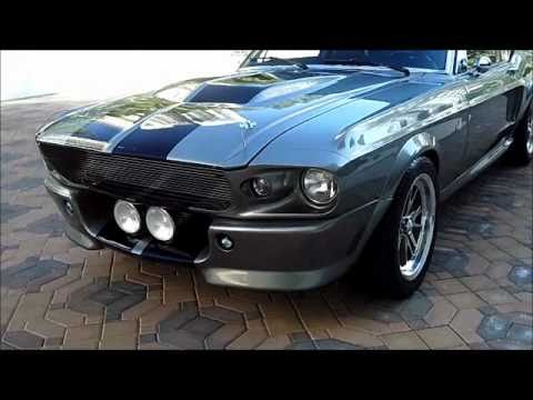 """ELEANOR"" 1968 FORD MUSTANG SHELBY GT500 – on the Las Vegas strip!"