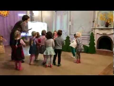 Интегрированное занятие в детском саду