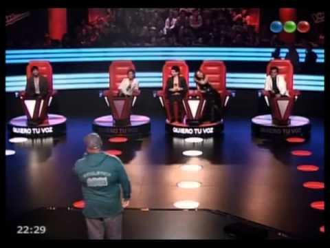Gonzalo Rodriguez Canta Y Hace Beatbox - La Voz Argentina