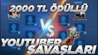 MOCKER VS TYPER   BÜYÜK KAPIŞMA DOSTLUK MAÇI! 2000 TL ÖDÜLLÜ - MOBILE Legends Youtuber 1vs1 Serisi