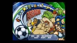 Sega Soccer Slam PS2 Multiplayer Full Playthrough (Sega) Part 1 of 3