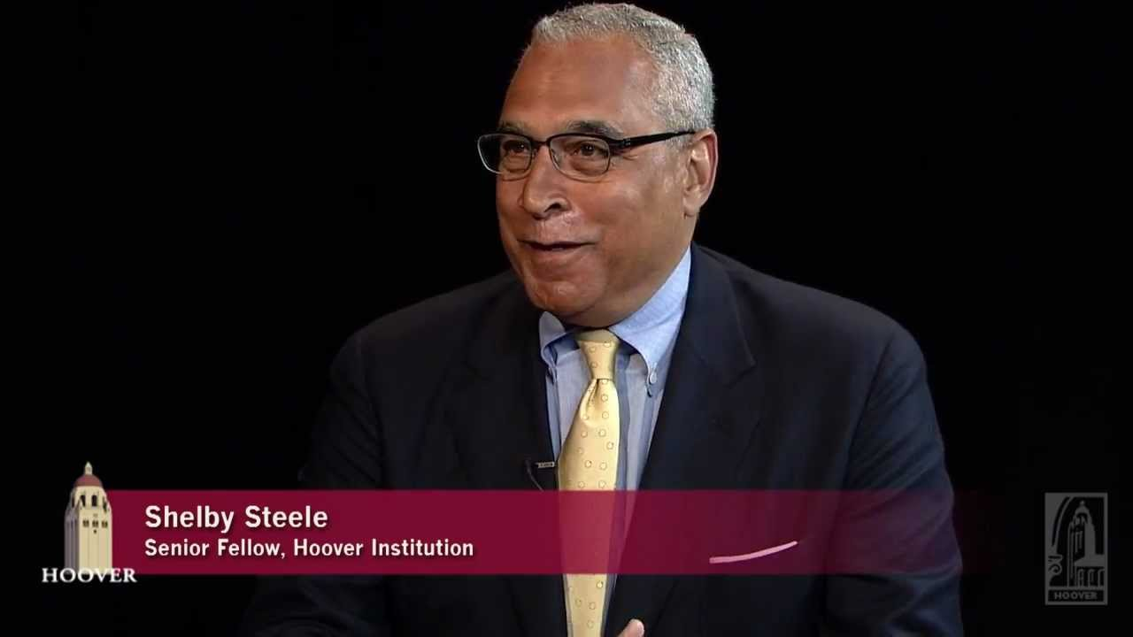white guilt shelby steele essay Shelby steele casts white guilt as an internal monologue on a solitary car trip, undertaken as the monica lewinsky scandal was erupting it occurs to steele that if dwight d eisenhower had been discovered to have engaged in such sexual escapades, he would have been out of a job in short order on the other hand, it is rumored that.
