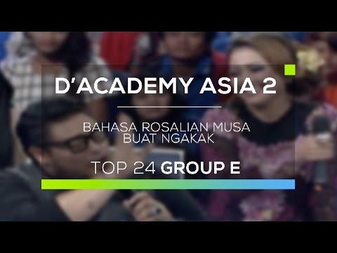 Bahasa Rosalina Musa Buat Ngakak (D'Academy Asia 2)