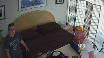 Couple Visiting Florida West Coast Finds Hidden Camera In Smoke Detector Of Airbnb Rental